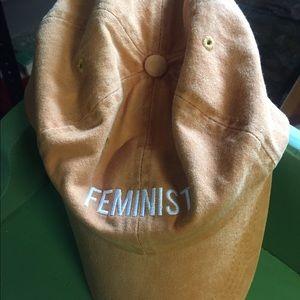 Feminist ball hat